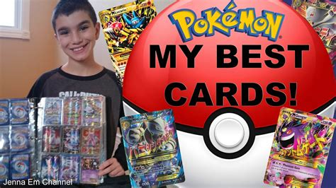 What Is The Best Gift Card - my best pokemon cards 2017 jenna em youtube