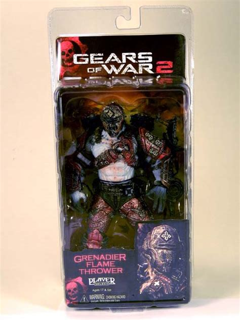 Gear Of War 2 Grenadier Thrower 7 quot gears of war 2 grenadier thrower s cd and hobby