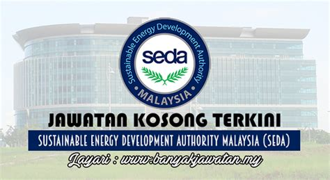 seda company jawatan kosong di sustainable energy development authority
