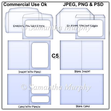 envelope c5 template images