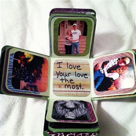 Gifts For For Boyfriend - exploding picture box inexpensive and easy to make