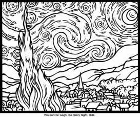 scribbleprints art kids coloring pages
