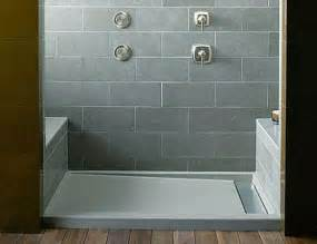 pre tiled shower pan pre made or tile shower floors which is right for your