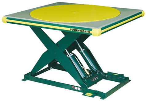 southworth ls series hydraulic scissors lift tables