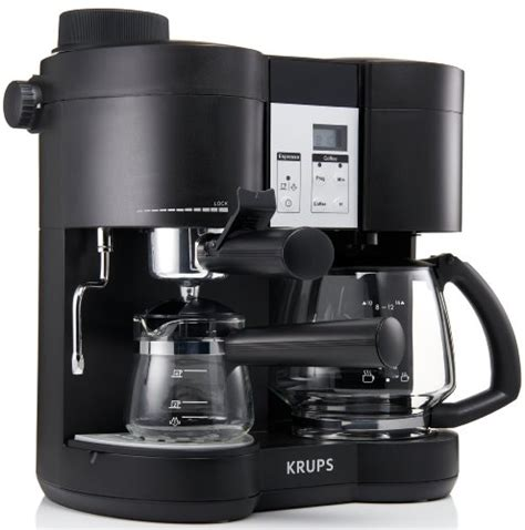 Krups Coffee Maker krups xp1600 coffee maker and espresso machine combination