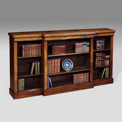 Display Bookcase Antique Bookcase Walnut Open Bookcase Bookcases