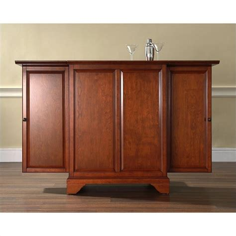 crosley furniture lafayette expandable cabinet classic
