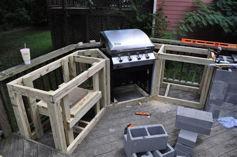 how to build outdoor kitchen cabinets building an outdoor kitchen and 29 diy outdoor kitchen