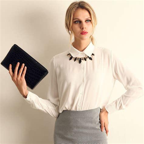 Top L Atasan Blouse Fashion Wanita new fashion chiffon sleeve shirt tops blouse 20 style size s l ebay