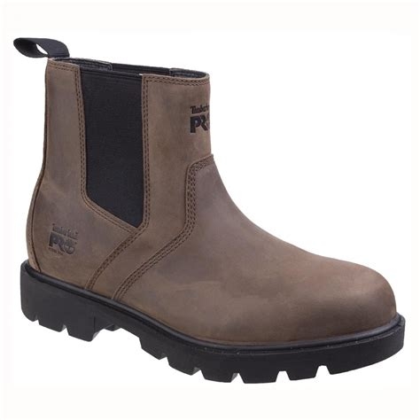 Timberland Safety Brown timberland pro sawhorse brown leather src mens safety