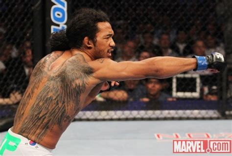 benson henderson back tattoo most badass tattoos in mma page 2 sherdog forums