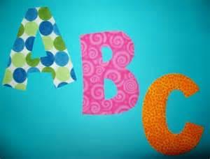 fabric letter templates fabric applique pdf template patterns alphabet letters