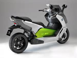 Bmw Electric Scooter Bmw Unveils C Evolution Electric Scooter Prototype