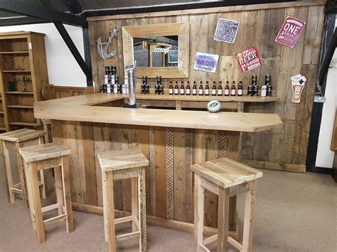 reclaimed timber bar table secondhand chairs and tables bar units rustic