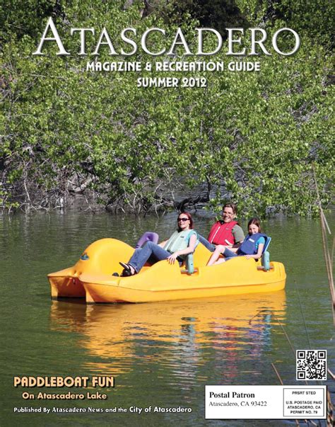 paddle boats atascadero atascadero magazine by news media corp issuu