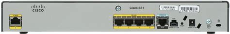 Router Cisco 881 Sec K9 cisco 881 sec k9 router alza cz