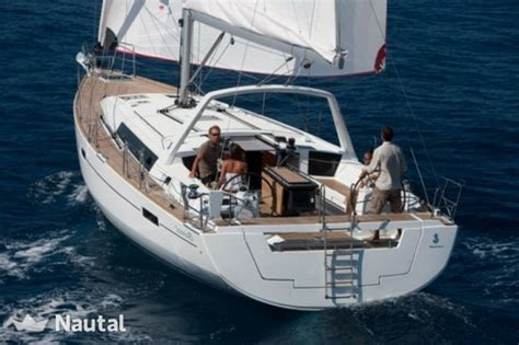 rent a boat mallorca oceanis 45 sailboat rental in mallorca nautal