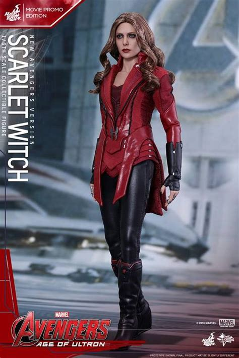 Toys Scarlet Witch Bib New Version Promo Edition 1 toys debuts new scarlet witch figure