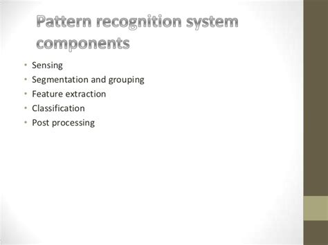 pattern in artificial intelligence artificial intelligence pattern recognition system
