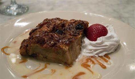 royal house oyster bar homemade bread pudding picture of royal house new orleans tripadvisor