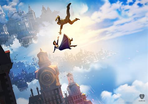 falling bioshock infinite irrational games