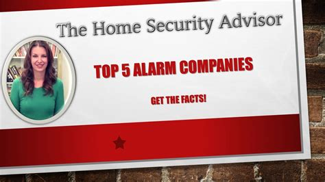 best home security companies 2015 new release
