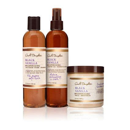 carols daughter natural hair care natural beauty the black vanilla moisturizing line of hair products by