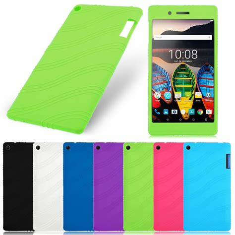 Lenovo Tab 3 7 730x 730f 730m Ultra Slim Leather Flip Cover soft silicone rubber gel skin cover for lenovo tab 3 7 tb3 730f 730m 730x ebay