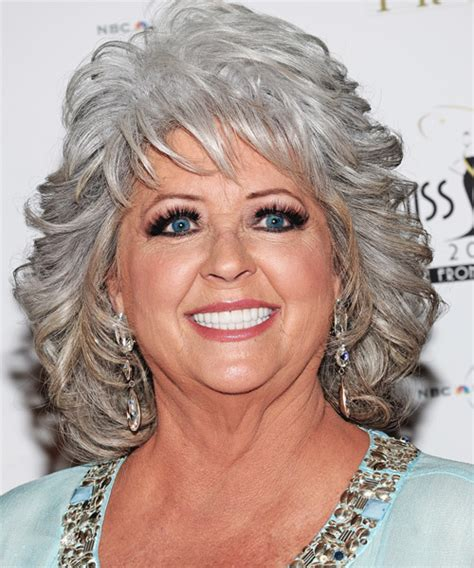 Paula Deen Hairstyles Gallery | paula deen medium wavy formal hairstyle