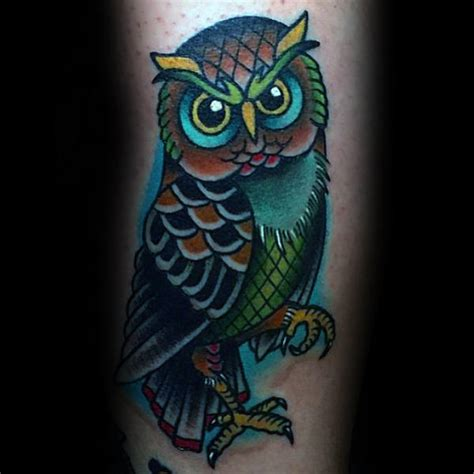 wise owl tattoo designs 70 traditional owl designs for wise ink ideas
