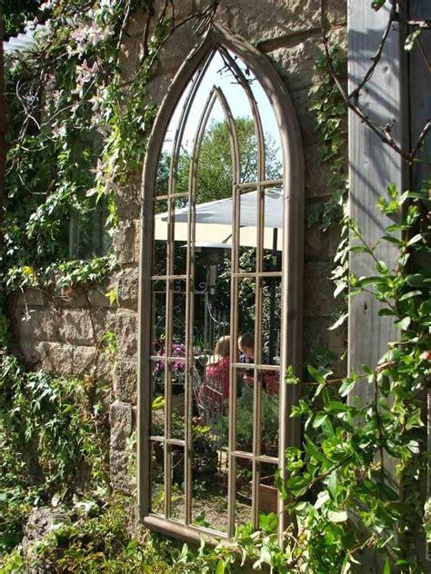 decoration pour une garden miroir ext 233 rieur pour une d 233 co de jardin extraordinaire