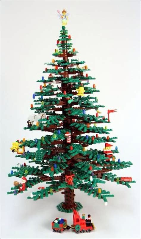 lego christmas tree a very lego holiday pinterest