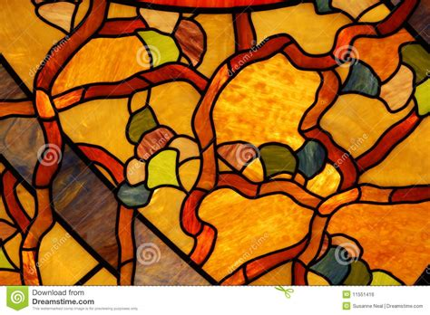 Colorful Stained Glass Ceiling Closeup Royalty Free Stock