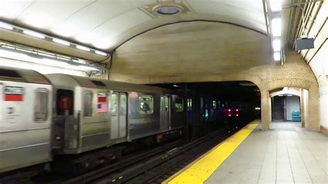 ferry bound video nyc subway south ferry bound r62a 1 train entering 168 st
