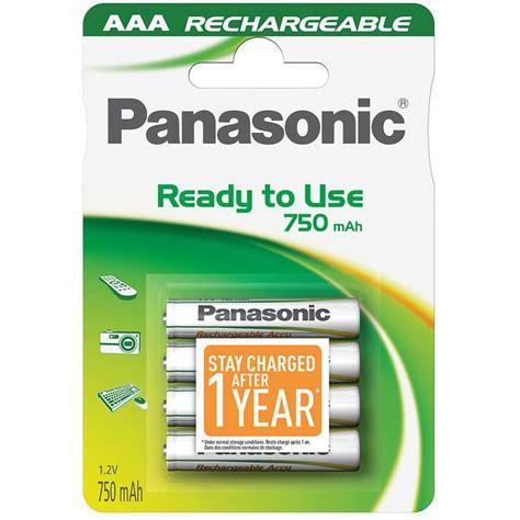 Ac 3 4 Pk Panasonic panasonic pack 4 pilas recargables 750mah aaa pila bater 237 a