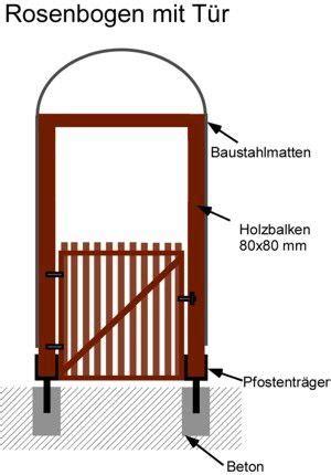 rosenbogen aus holz selber bauen 1253 anleitung rosenbogen mit t 252 r aus holz und stahl selber