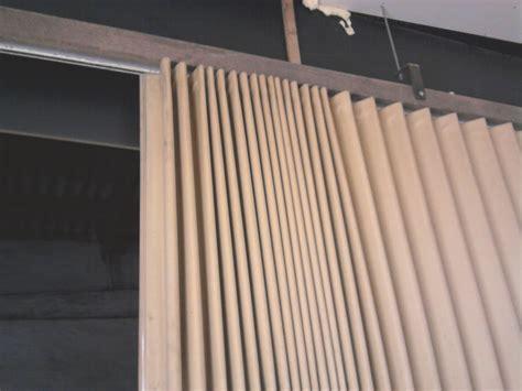 ziehharmonika vorhang tor 3m hoch 6m breit halle - Werkstatt Vorhang