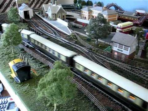 hornby layout youtube my hornby 8 x 4 layout part 2 youtube