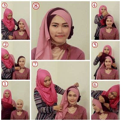 tutorial jilbab untuk kebaya pinterest the world s catalog of ideas