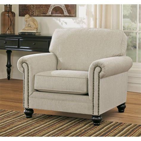 milari linen accent chair signature design by furniture milari accent chair