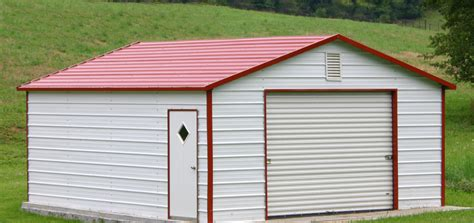 Backyard Garage by Garage Photos Steel Building Garages