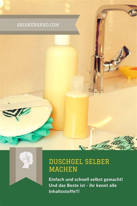 diy duschgel selber machen arianebrand