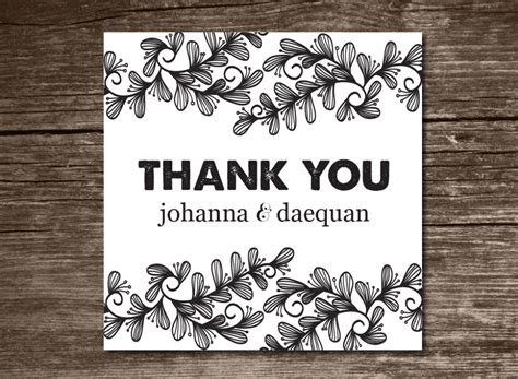 decorate thank you card template the best thank you cards template designs