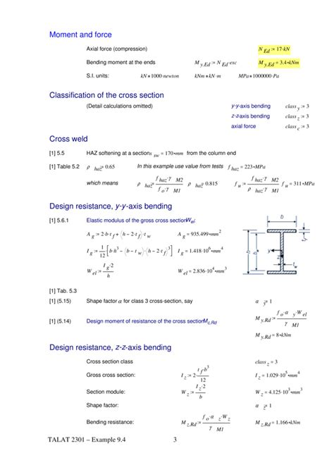 form design of welded members talat lecture 2301 design of members exle 9 4 beam