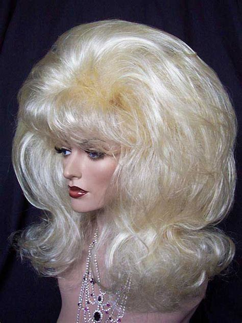blonde curly partial up do spicy girl wig ebay puffy and full blonde drag queen wig wigs pinterest