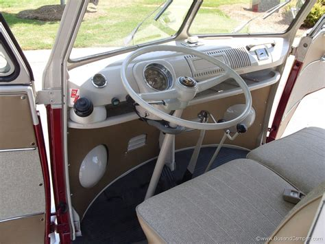 volkswagen bus interior vw cer 1967 deluxe bus interior detailed pictures