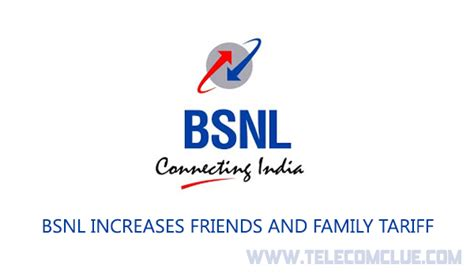 Bsnl Address Finder Bsnl Increases Friends And Family Tariff Telecom Clue
