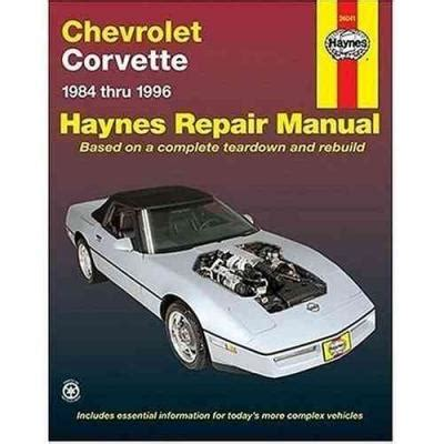 book repair manual 2012 chevrolet corvette free book repair manuals chevrolet corvette 1984 1996 haynes service repair manual sagin workshop car manuals repair