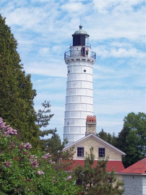 door county wis is home to lighthouses cherries and