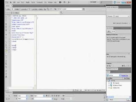 how to use templates in dreamweaver how to use html template on dreamweaver cs5